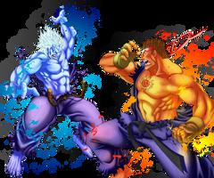 Demon VS Demon by Kukurobuki