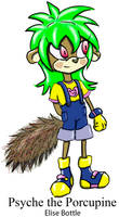 Psyche the Porcupine