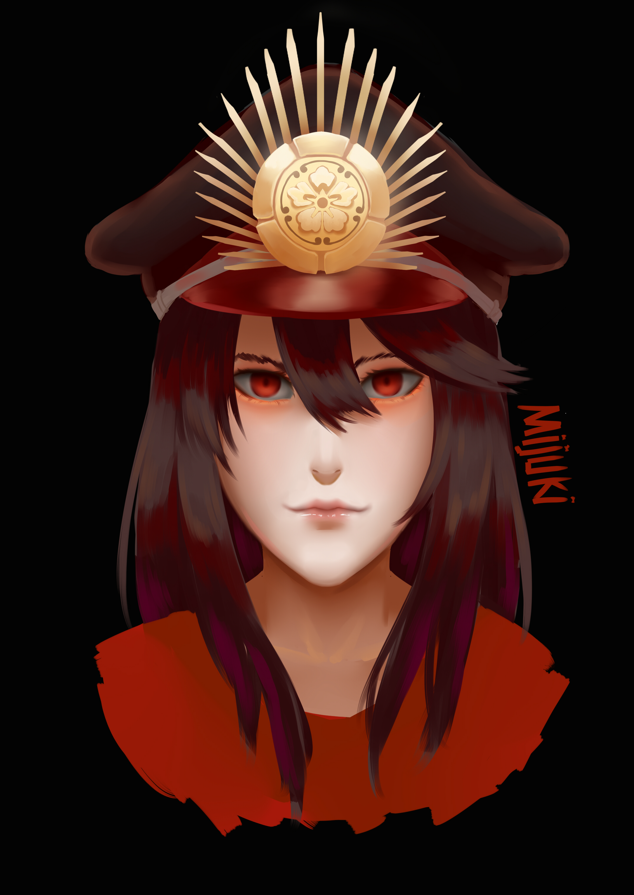 Oda Nobunaga Fate grand Order by KatohHiki