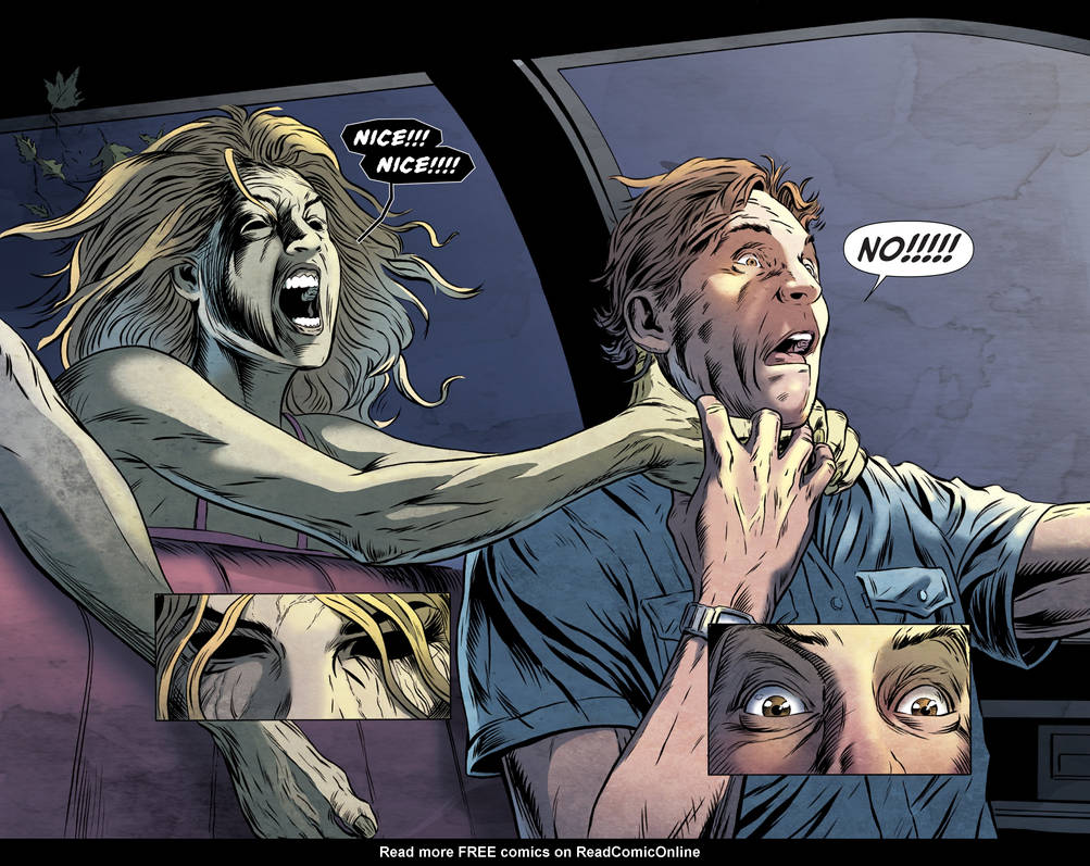 Grimm Tales of Terror double page spread by chickenlegboy on