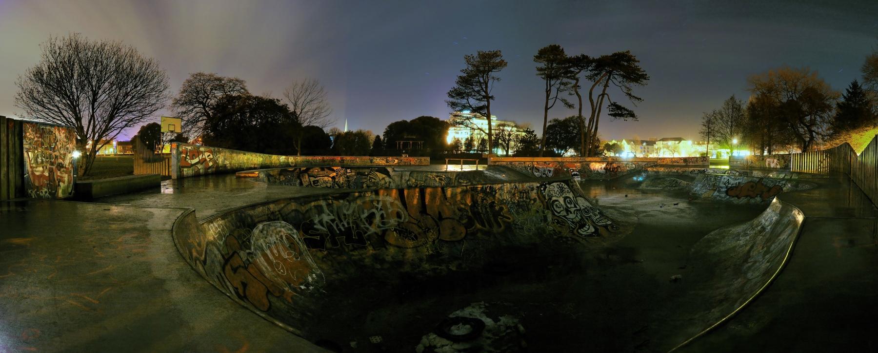 Skatepark by Banshee333