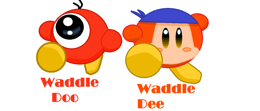 Waddle Dee and Doo by TheStickFigureKing on deviantART Waddle Dee And Waddle Doo