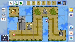 Mountain Theme World Map SMM2