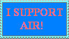 Supporting Air by ever-ambient
