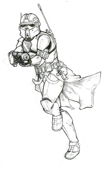 Clone commander brede by mcq23 on deviantart for Clone trooper coloring pages