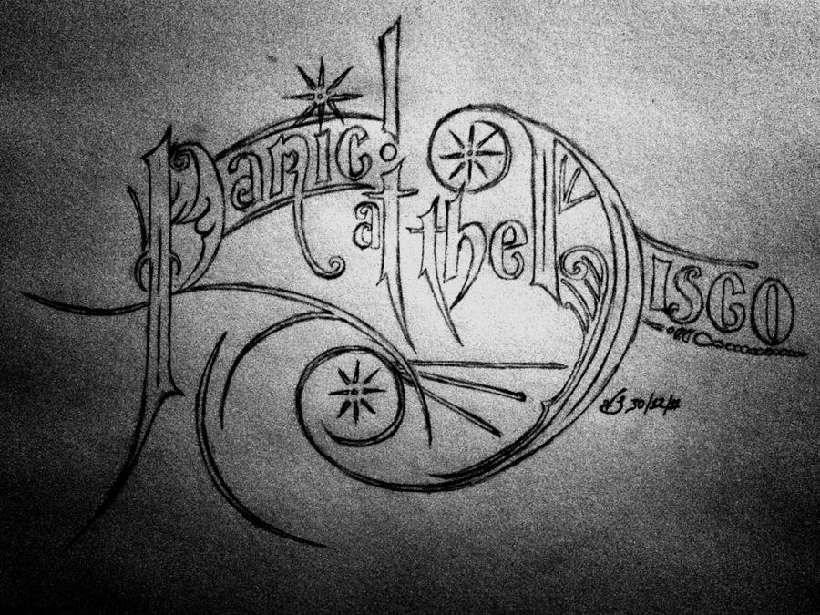 Panic At The Disco Logo by killjoy13109 on DeviantArt