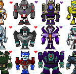 Pixelformers by DisfiguredStick