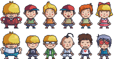 Mother Earthbound pixels by DisfiguredStick