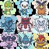 Pokemon Icons 1 by DisfiguredStick