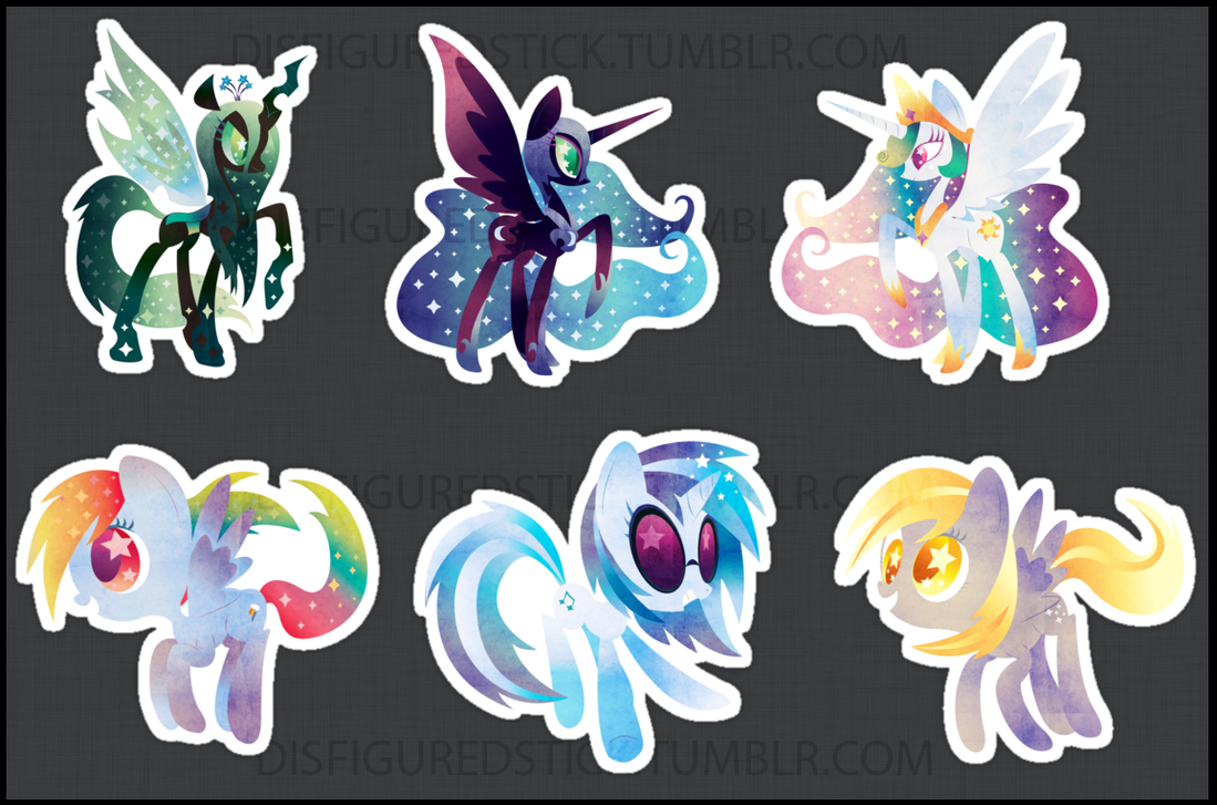REDBUBBLE STICKERZ by DisfiguredStick