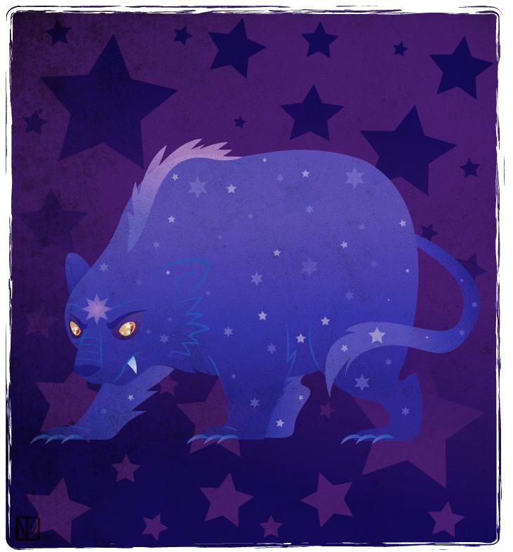 Star bearrrr by DisfiguredStick