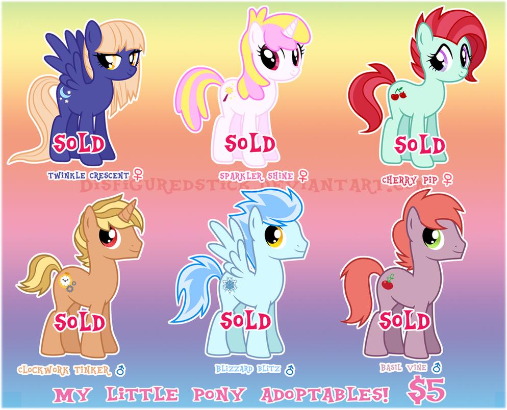 mlp mare stallion adoptables by disfiguredstick on deviantart