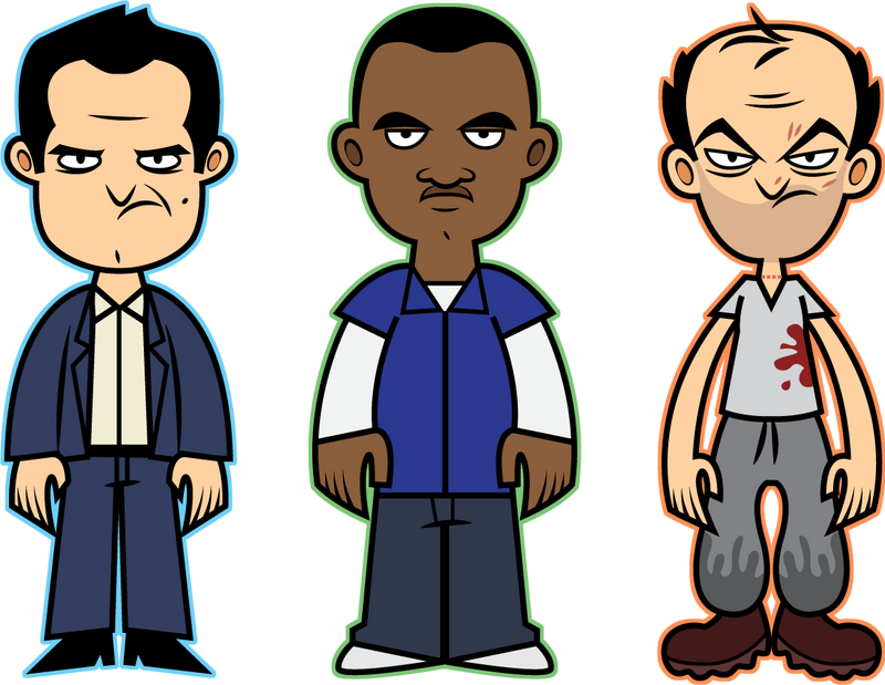 Gta 5 Cartoon Characters : Gta v by disfiguredstick on deviantart