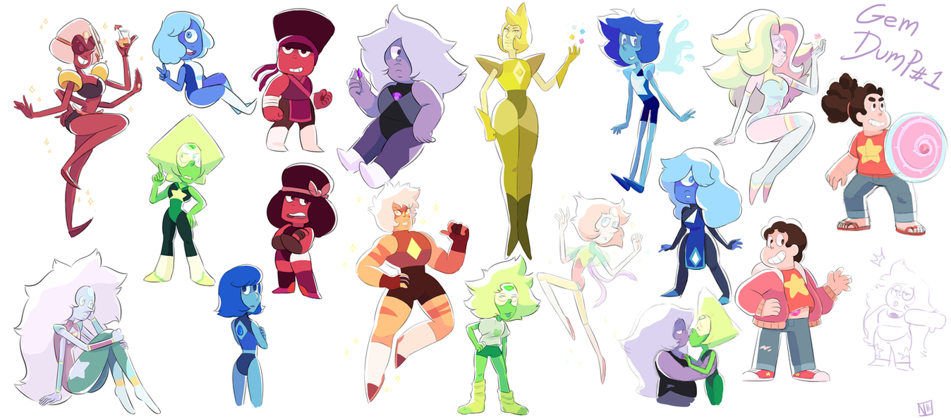 Gem dump #1 by DisfiguredStick