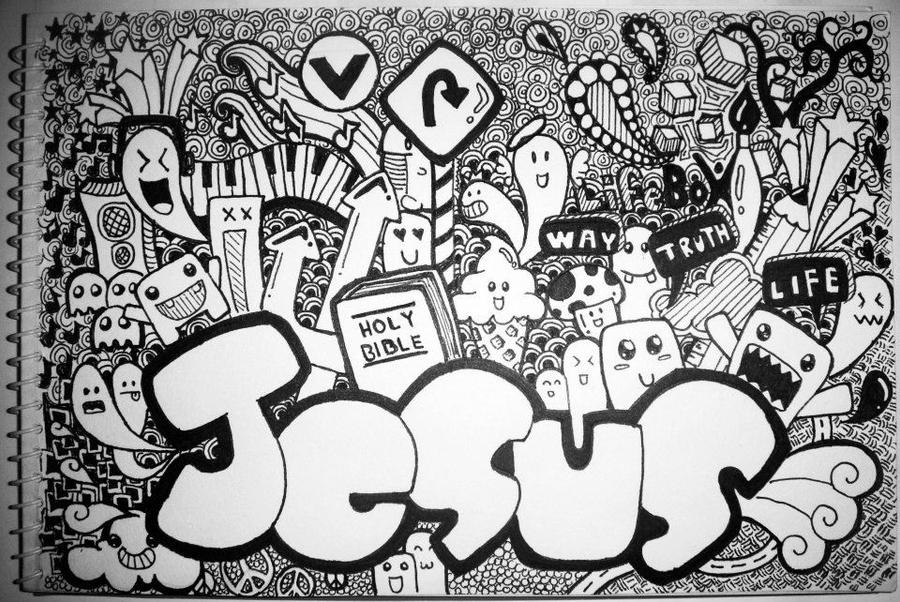 Doodle for Jesus by boycoolot
