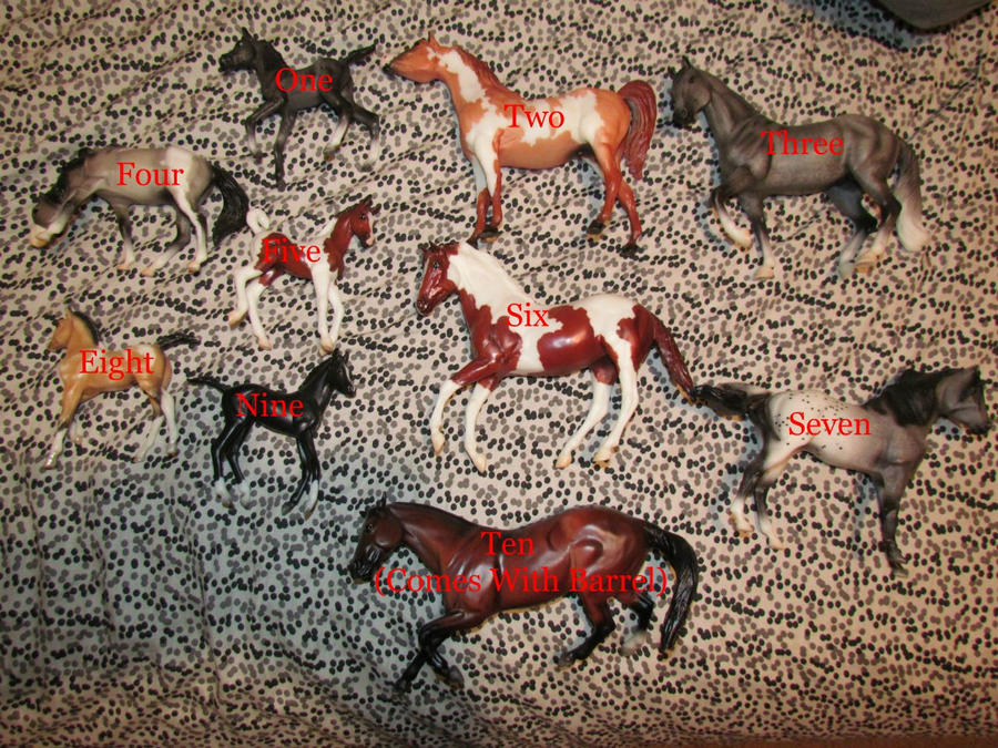 Classic Breyer Horses For Sale by PsychoHorseStudios on DeviantArt