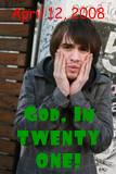 Brendon's Twenty One :x by mercipourlevenin92