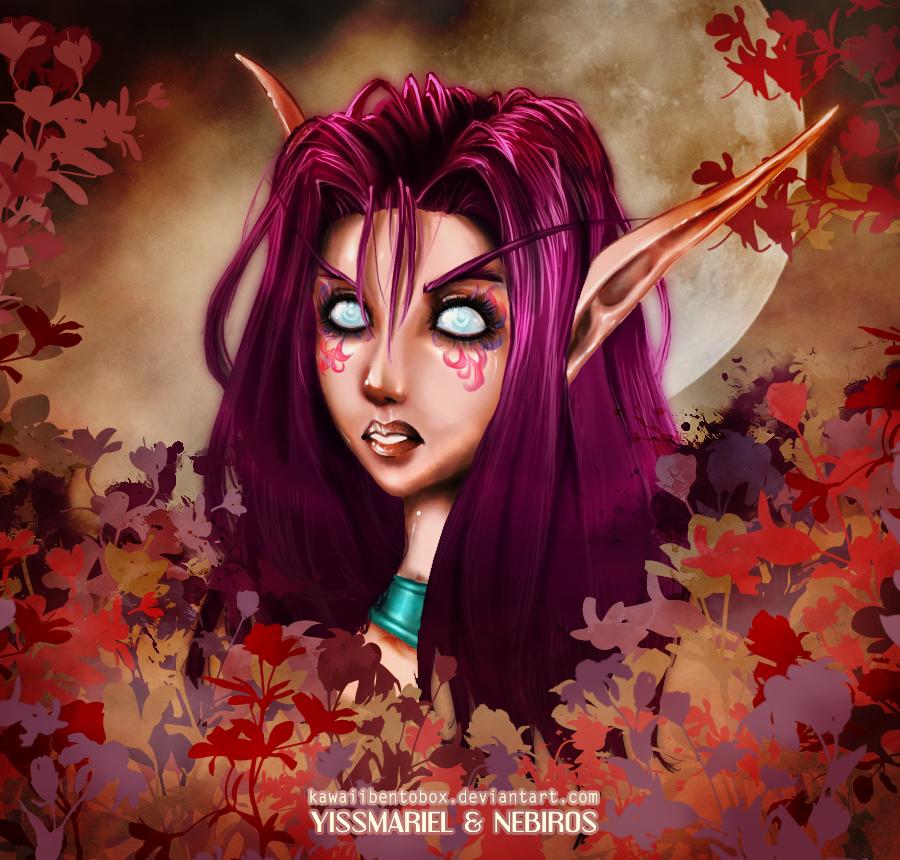 World of Warcraft Nightelf by hotbento