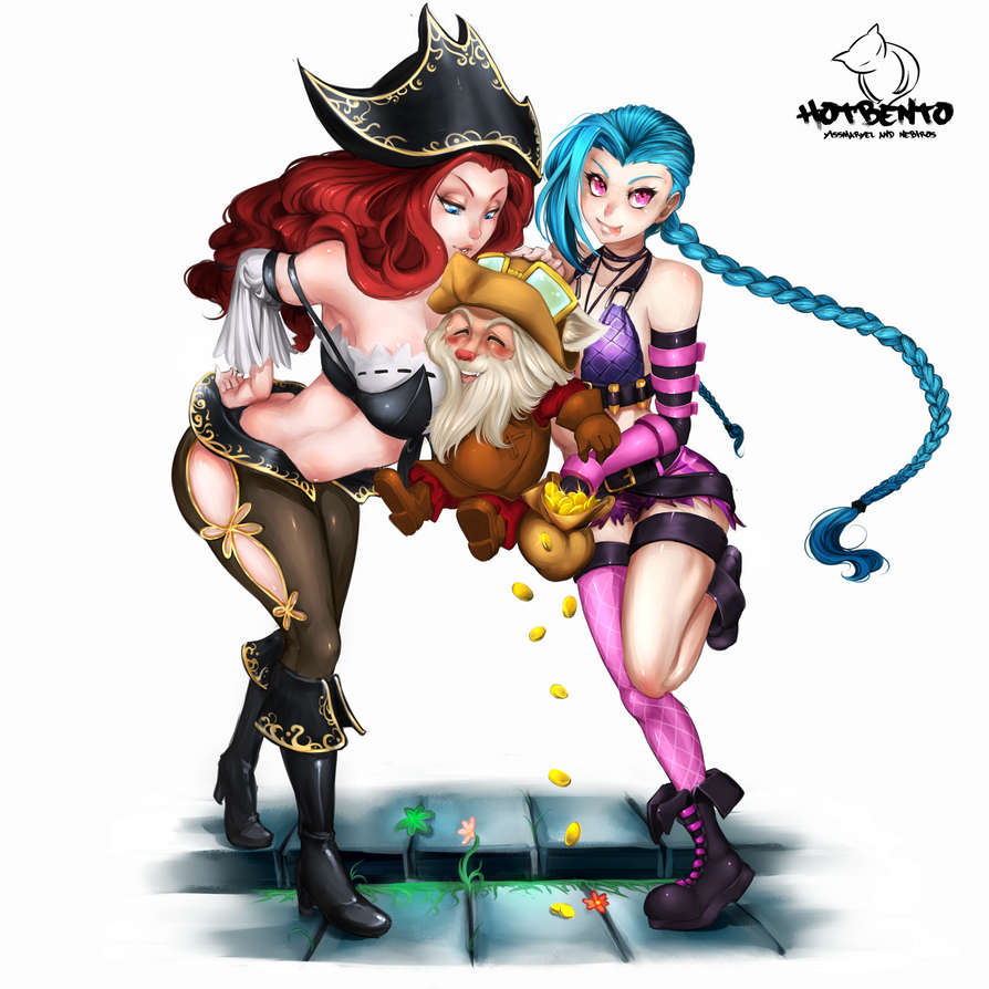 Tricks to get discount feat. Miss Fortune and Jinx by hotbento