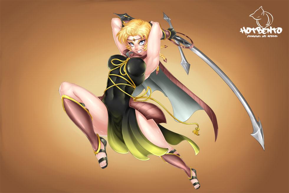 Sailor Zeus (commission) by hotbento