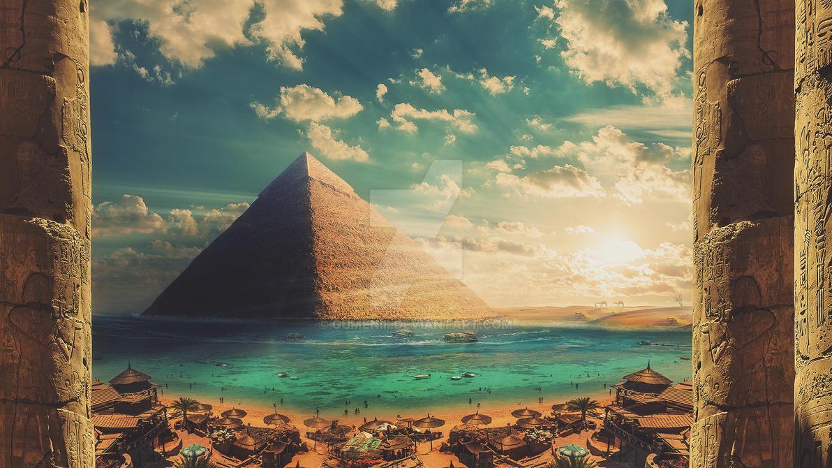 Pyramid by GumeNiii