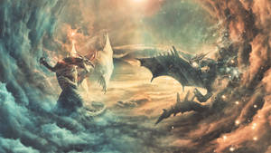 Dragon Fight by GumeNiii