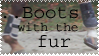Furry boots stamp by BrindleTail