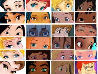 Disney girl eyes ref by JeebusOfTheSwatKats