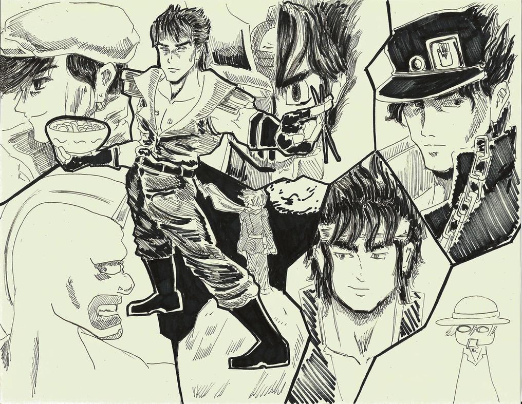 Shounen Heroes by GinSheol