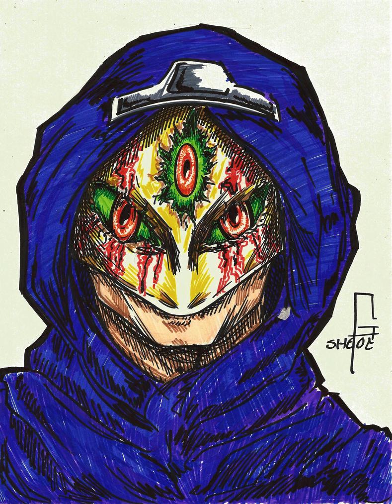 Three eyed Mask by GinSheol