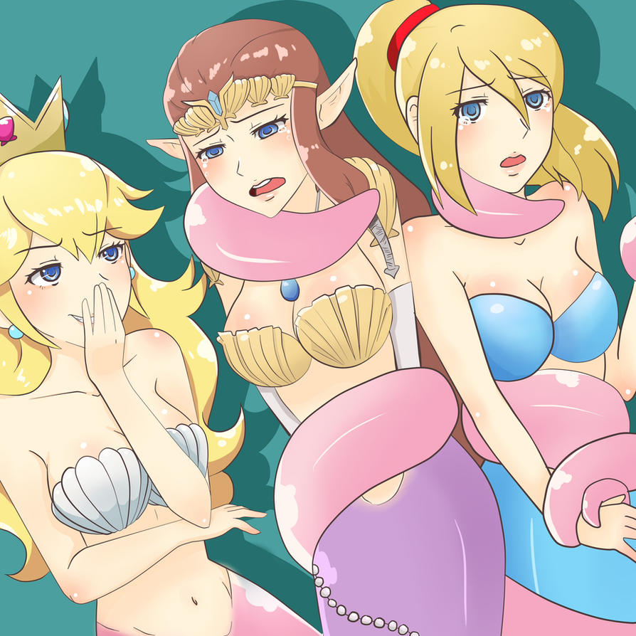peach samus zelda sex