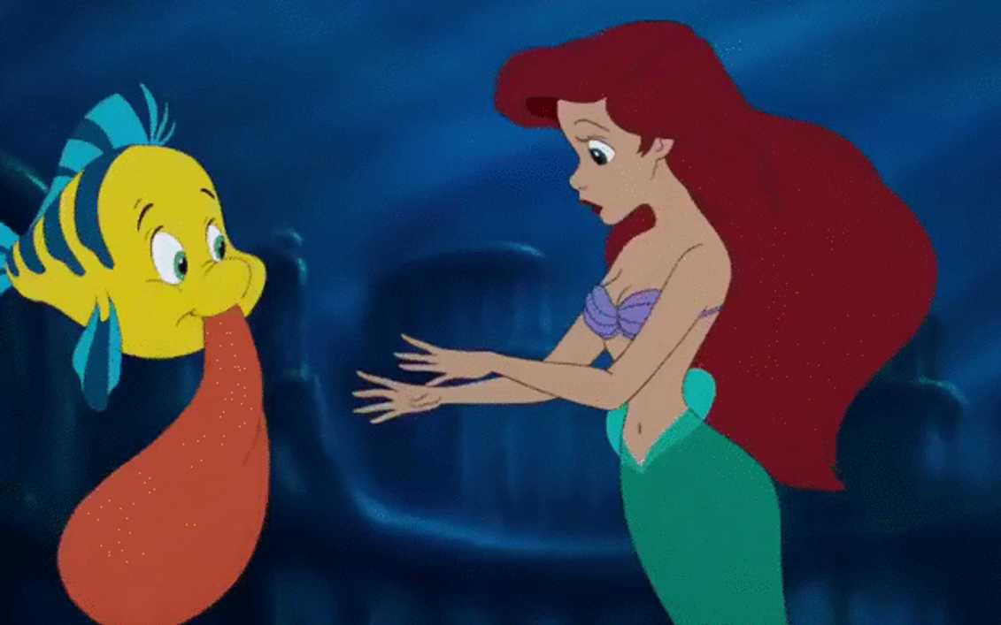 Uncategorized Flounder And Ariel ariel and flounder swim away from the palace by arielfan90 on deviantart