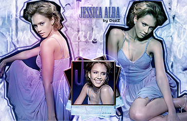 Blend with Jessica Alba by dazzlicious