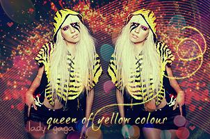 Lady Gaga sign by dazzlicious