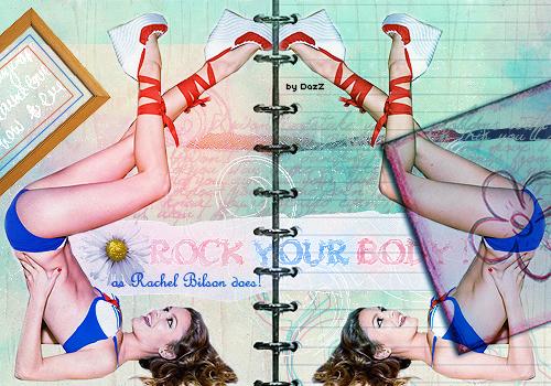 Blend with Rachel Bilson by dazzlicious