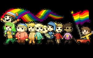 Gay Parade (Pride Month) by KeiArubino