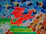 Dragon Mosaique