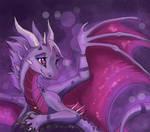 Violet dragoness