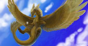 Flying dragon ball