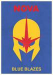 Blue Blazes, it's a minimalist Nova poster!