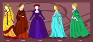 Fashion: Medieval to Rococo