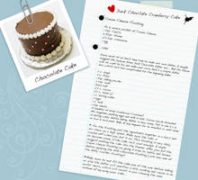 Dark Chocolate Cranberry Cake by WisdomsPearl