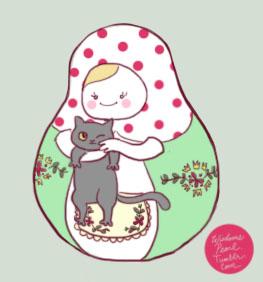 The Littlest Matryoshka for Lauren by WisdomsPearl