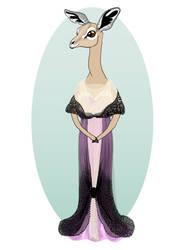 Miss Gerenuk of Longneck Hall