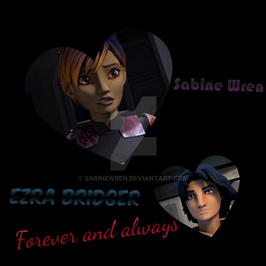 star wars rebels sabine and ezra relationship