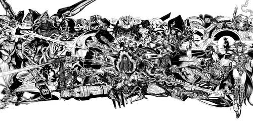 High Res Ink: Epic Landscape by TowerofNod