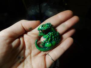 Green Dragon Pendant