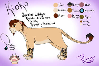Kioko - Ref Sheet by ringoluver
