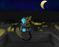 PKMN-PMMM | On The Building At Midnight