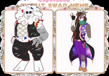 PKMN-PMMM | Outfit Swap: Harvey + Vi